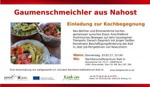 Gaumenschmeichler weltgewandt 23.02.17